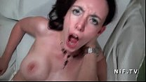 10999 Amateur Busty french brunette fucked hard and facialized in pov preview