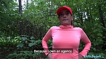 Public Agent Hot Spanish jogger fucks on stairs Preview