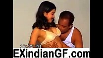 Amateur Indian couple playing on cam video