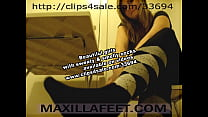compilation of sexy girls with sweaty smelly socks