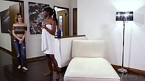 Kristen can't refuse the ebony beauty Ana Foxxx video