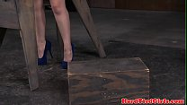 12690 Tiedup bdsm sub dominated by black maledom preview