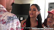 14814 Brazzers - Four Latina babes have there way with Johnny preview