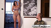 Download video bokep Alison Tyler drains Chad's cock with her mouth 3gp terbaru