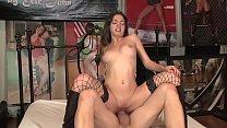 Hot pussy fucking brunette teen Hailey Scott