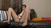 Coeds Hitachi Mastubation to Multiple Satisfying Orgasms preview image