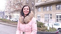 GERMAN SCOUT - PERFECT CUTE MOM VICKY TALK TO FUCK AT REAL STREET CASTING