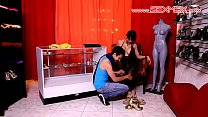 beegsex - Gaby Garcia Latina Milf fucked in a boutique store part 1 thumbnail
