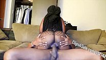 6029 Bubble Butt Riding Can't Take Dick preview
