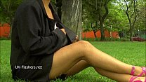 Amateur latina Beatriz flashing and public masturbation of nude exotic southern Preview
