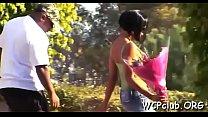 Slutty white girl gets holes screwed so well by ebony gangsta's Thumb