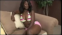 Lusty muscular fellow bangs ebony cutie Cookie ... thumb