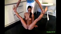flexi spandex gymnast ready for kamasutra sex thumbnail