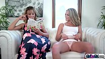 Stepmom Slides Her Hand In Stepteens Pants Whil
