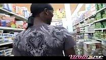 Ebony Gets Picked Up At Supermarket