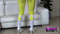 Cosplay Huge titted Power Ranger Thumbnail