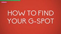 HOW TO FIND YOUR G SPOT