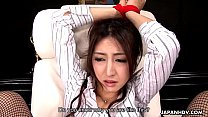 Asian teacher gets punished for her being naughty video
