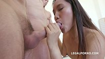 May Thai 5on1 Facialized 11 time. No Pussy ANAL/GAPES/DAP/MULTIPLE BJ. Asian Slut is getting confide Image
