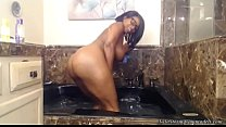 Busty Big Booty Ebony Nyla Storm In The Jacuzzi! Preview