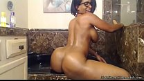 Busty Big Booty Ebony Nyla Storm In The Jacuzzi!