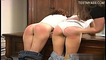 Horny amateur ball licking