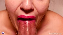 Blowjob and Swallow Closeup - Cristall Gloss صورة