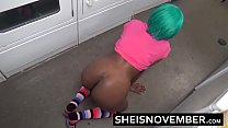 8614 Stranger Eating Ebony Redbone Ass In Public Doggystyle Fuck Young Slim Body Butt preview