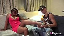5212 Ebony fatty Colombian wife gets doggystyle from the first Spanish cock she's met preview