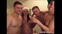 A Blowjob Christmas Sex Party - JustFuckHer.com(1)