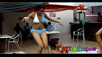 Sexy African Black Babes Pool Party trailer