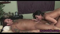Awesome busty brunette Charley Chase & Bangbuss thumbnail