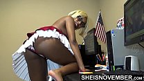 18869 My Boss Took Me Shopping, Now I Owe Him Sex, Black Secretary Msnovember Fucked HD On Sheisnovember preview