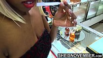 9076 My Boss Took Me Shopping, Now I Owe Him Sex, Black Secretary Msnovember Fucked HD On Sheisnovember preview