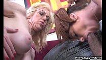 Mom Sindi Star and Tweety Valentine take a BBC thumbnail