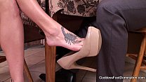 naughty alaya - Wife Closes Under Table Business Deal thumbnail