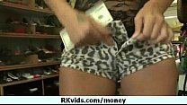 Money does talk for a nasty whore 12