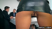 Wife double anal and double pussy fucked  a dinner party - 9Club.Top