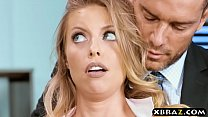 Office slut Britney Amber anal fucked by the HR department video
