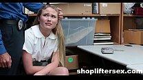 Catholic Schoolgirl Fucked For stealing |shopliftersex.com
