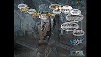 3D Comic: Clara Ravens. Chapter 2