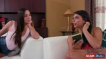 Scam Angels - Wild Americans Gina Valentina And Karlee Grey Scamming A Neighbor