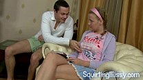 Hot squirting jizz from newbie