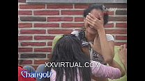 Britni Chupa Tetas De Azucena Bar TV Mexicanas Lesbianas