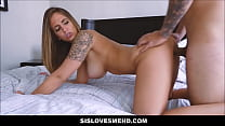 15020 Hot Step Sister Layla London With Natural Big Tits Fucked By Stepbrother preview