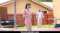 ExxxtraSmall - Perky Spinner Gets Fucked By Swimming Coach