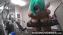 Young Black Girl Sheisnovember Fucked By Old Man