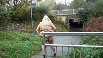 Chubby amateur babes public exhibitionism and busty flashers outdoor exposure image