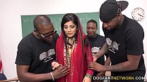 17928 Nadia Ali Learns To Handle A Bunch Of Black Cocks preview