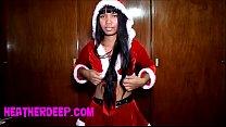 Christmas free full fuck creampie from heatherdeep.com [질내사정 Creampie]